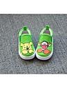 Baby skor Bekvämt Kanvas Loafers Grön