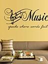stickers muraux stickers muraux, stickers muraux PVC musique