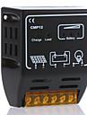 cmp12 10a 12v / 24v sol laddningsregulatorn solpanel batterikontroll regulator