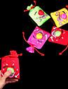 Tryck och Laugh leende ansikte Big Nose Bag Stress-Reliever Practical Joke (Random Color, 10x10x4cm, 1st)