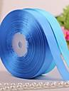 enfärgade 3/4 tum sidenband - 50 varv per rulle (fler färger)