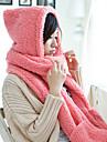 Alva femei ține de cald hanorac eșarfă capac elegant