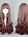 min lilla flicka taro mjölk gradient färg 60cm söta lolita peruk