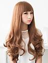 mode hår långa vågiga syntetiska fullt Hjälp peruker