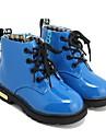 Combat Boots - Läder - Stövlar (Svart/Blå/Gul/Röd)