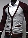 Bărbați moda pulover maneca lunga Cardigan Casual