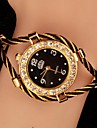 Magnificent Women's Large Metal Dial Exquisite Fashion Watch