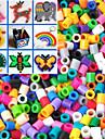ca 500pcs 5mm blandade Perler pärlor säkrings pärlor Hama Pärlor DIY pussel eva material safty för barn