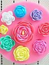 Moule de Cuisson Fleur Pour Gâteau Pour Cookie For Chocolate Silikon Bricolage Ecologique Anniversaire