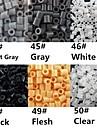 environ 500 pièces / perles Perler sac de 5mm fusionnent perles perles hama safty eva matériel pour les enfants (assortiment b44-b50)