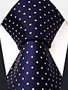 afaceri buline bleumarin mătase cravată pentru bărbați