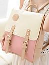 koreansk kontrastfärg backpack_39