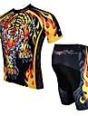PALADIN® Maillot et Cuissard de Cyclisme Homme Manches courtes Vélo Respirable / Séchage rapide / Résistant aux ultravioletsMaillot +