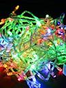 vattentät 10m 100led rgb ljus ledde jul ljus dekoration string ljus (220V)
