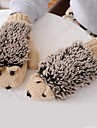 Women's  Hedgehog Shaped  Imitation Fur Knitting Wool Warm Gloves