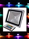 Projecteurs LED Commandée à Distance RGB 1 LED Intégrée 2900 LM AC 85-265 V