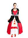 sexig kvinna Queen of Hearts alice prinsessa parti halloween kostym (2pieces)