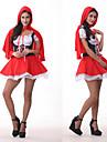 Costumes de Cosplay / Costume de Soirée Conte de Fée Fête / Célébration Déguisement Halloween Rouge Mosaïque Robe / BandeauHalloween /