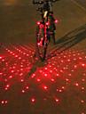Eclairage de Vélo / bicyclette Lampe Avant de Vélo Lampe Arrière de Vélo Eclairage guidon vélo Laser LED Cyclismepenggera multi-alat