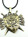 Smycken Inspirerad av The Legend of Zelda Cosplay Animé/ Videospel Cosplay Accessoarer Halsband Guld Legering Man