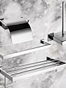 PHASAT®, Badrumstillbehörsset Rostfritt stål Väggmonterad Rostfritt stål Modern