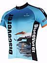 PALADIN® Maillot de Cyclisme Homme Manches courtes Vélo Respirable Séchage rapide Résistant aux ultraviolets Maillot Hauts/TopsPolyester