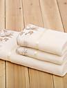 Ensemble de serviette de bainSolide Haute qualité 100% Microfibre Serviette