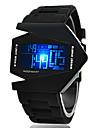 Shinuo Men's All Match Fashion Silica Gel Band Watch
