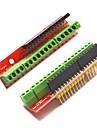vis bouclier cartes d'extension du terminal v2 pour Arduino - rouge (2 pcs)