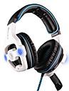 Sades SA-903 Casques (Bandeaux)ForOrdinateursWithAvec Microphone Règlage de volume Jeux
