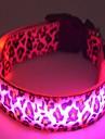 Chat / Chien Colliers Lampe LED / piles comprises Blanc / Incanardin / Jaune Nylon