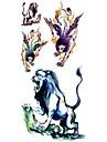 #(1) - Séries animales - Multicolore - Motif - #(18.5*8.5) - Tatouages Autocollants Homme/Girl/Adulte/Adolescent