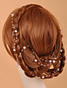 Femei Imitație de Perle Diadema-Nuntă Ocazie specială Informal Exterior Lănțișor de cap