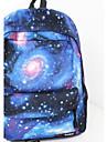 Women's Fashion Spiral Galaxy Backpack CeLestial Bookbag