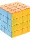 Qiji® Cube de vitesse lisse 4*4*4 Vitesse / Niveau professionnel Cubes magiques Arc-en-ciel Anti-pop / ressort réglable ABS
