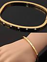 heta försäljning stil armband 18k guld platina manschetten armband österrikiska strass present till kvinnor av hög kvalitet