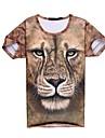 go-boy män mode 3d tryckt kreativ top t-shirt