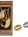 att Sagan om Ringen Frodo Bagger besvärjelse ringen cosplay halsband