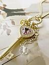 lucky docka guld nyckel halsband