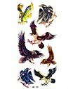 #(1) Tatouages Autocollants Séries animales Motif ImperméableFemme Mâle Adolescent Tatouage Temporaire Tatouages temporaires