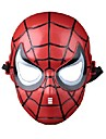 barn spider man plastmaterial fancy dress party halloween mask (slumpvis färg)