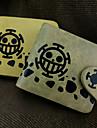 Väska / Plånböcker Inspirerad av One Piece Trafalgar Law Animé Cosplay Accessoarer Plånbok Gul / Brun Läder / PU Läder Man