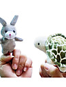 Leksaker Fingerdocka Djur Tecknat Originella leksaker För pojkar För flickor Textil Plysh