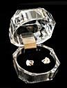 Weimei dammode transparent fyrkantig ring gåva box