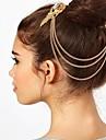 accessoires de cheveux clip de bord à franges