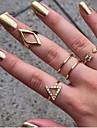 inel europene și americane triunghi de moda pentru femei (5pcs)