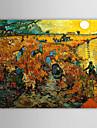 HANDMÅLAD Känd En panel Kanvas Hang målad oljemålning For Hem-dekoration
