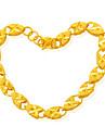 blinka dammode temperament 24k guldpläterad armband