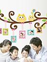 Wall Stickers väggdekaler, vackra ugglor pvc vägg klistermärken