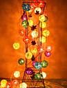 jiawen® 4m 20leds rgb ledde rotting boll string ljus jul sträng ljus för dekoration (ac 110-220V)